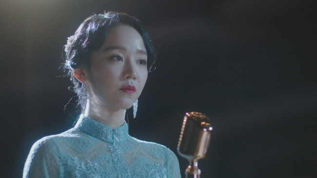 "Scene from 2018 TV series ""The Hymn of Death,"" set in early 20th century Korea (SBS)"