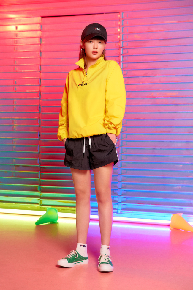 Fila Korea's retro-inspired spring looks (Fila Korea)
