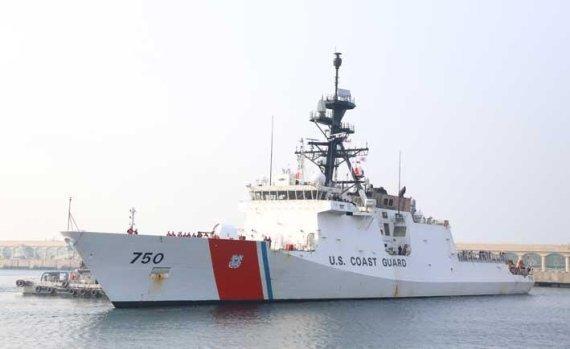 The USCGC Bertholf (Yonhap)
