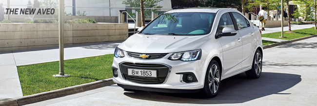 GM's Aveo (GM Korea)