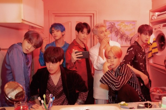 BTS. Big Hit Entertainment