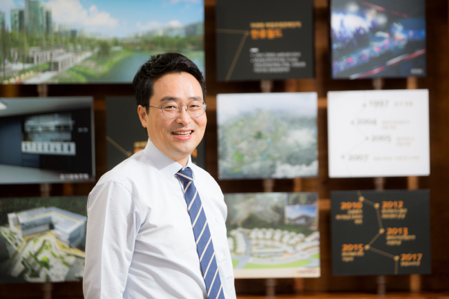 Lee Heon-uk, CEO of the Gyeonggi Urban Innovation Corporation (GICO)