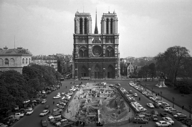 This April 18, 1967, file photo, shows the Notre Dame Cathedral in Paris. Art experts around the world reacted with horror to news of the fire that ravaged cathedral on Monday, April 15, 2019. One shell-shocked art expert is calling the beloved Gothic masterpiece 'one of the great monuments to the best of civilization.'(AP)