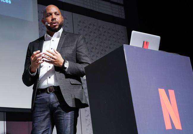 Nigel Baptiste, Director of Partner Engagement. Netflix