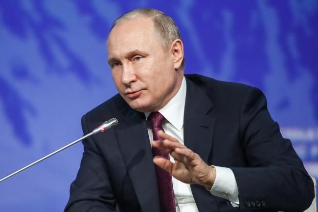 Russia's President Vladimir Putin (Yonhap)