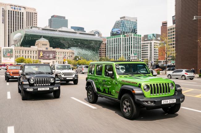 Jeep's All-new Wrangler (FCA Korea)