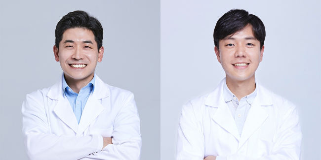 Psychiatrist Oh Jin-seung (left) and ear, nose and throat doctor Lee Nak-joon spoke to The Korea Herald about the health impact of ASMR.