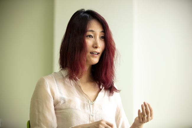 Jude Lee, a deputy program director of Greenpeace based in Seoul (Greenpeace)