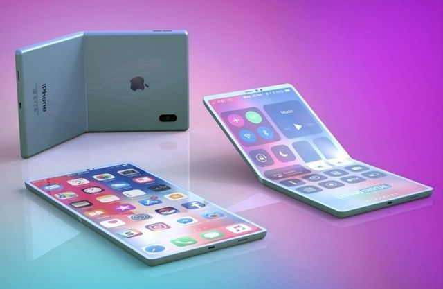 Image of Apple's foldable mobile phone (LetsGo Digital)