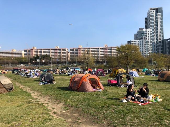 Banpo Hangang Park (Ock Hyun-ju/The Korea Herald)
