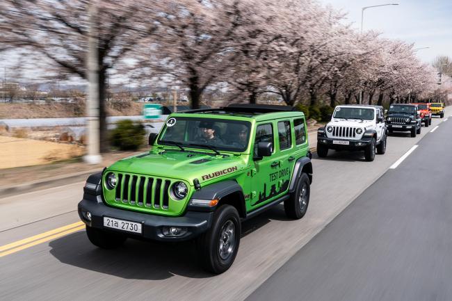 Jeep Wrangler Overland (FCA Korea)