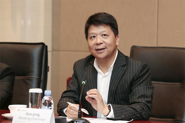 Huawei's rotating Chairman Guo Ping. Huawei