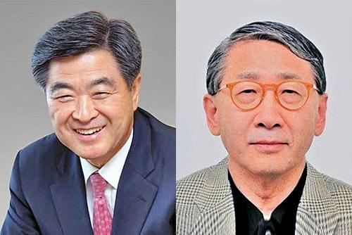 Kwon Oh-gap (left) and Choi Jong-hyun (HUFS)