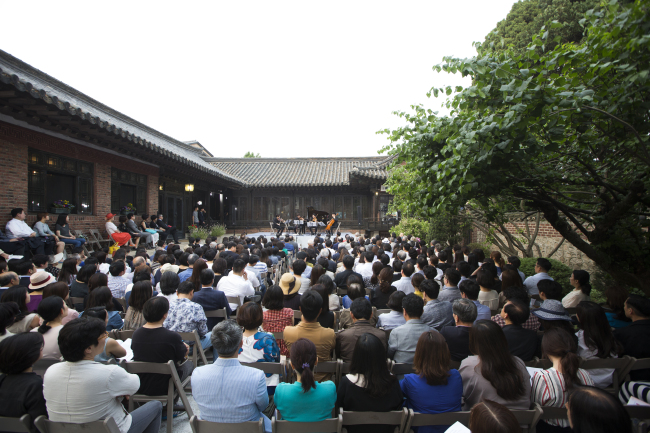 """Salon Concert"" takes place during the 2018 Seoul Spring Festival (Mast Media)"