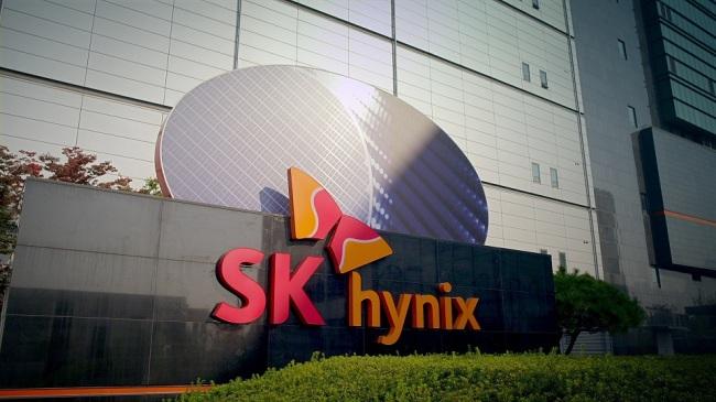 The entrance of SK hynix's fab in Cheongju (SK hynix)