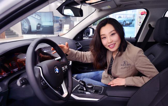 BMW interior designer Kim Nury (Park Hyun-koo/The Korea Herald)