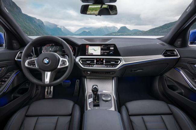 The interior of BMW's new 3 series (BMW Korea)