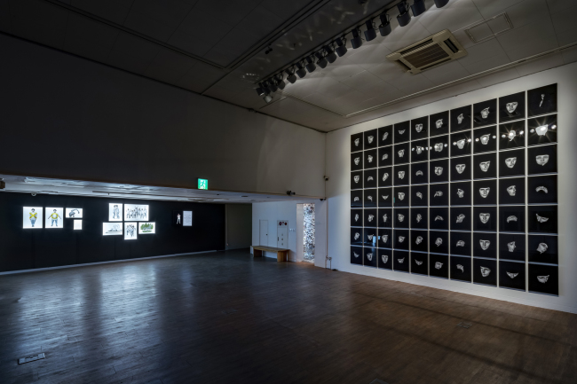 "An installation view of the exhibition ""The Security Has Been Improved"" at the Coreana Museum of Art in Seoul (Coreana Museum of Art)"