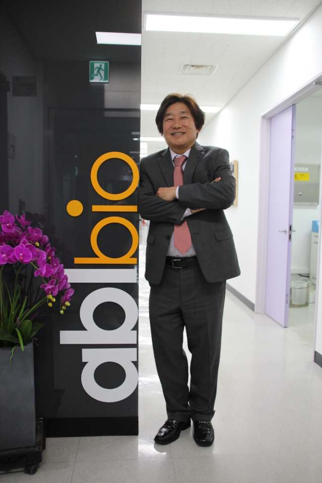 Lee Sang-hoon, CEO of ABL Bio (Lim Jeong-yeo/The Korea Herald)