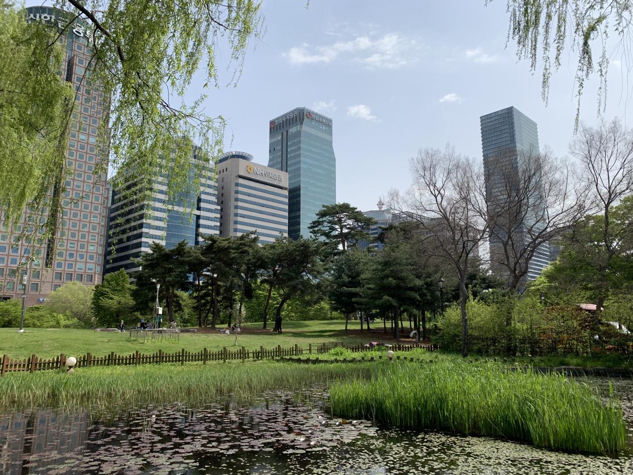 Yeouido Park (Kim Arin/The Korea Herald)