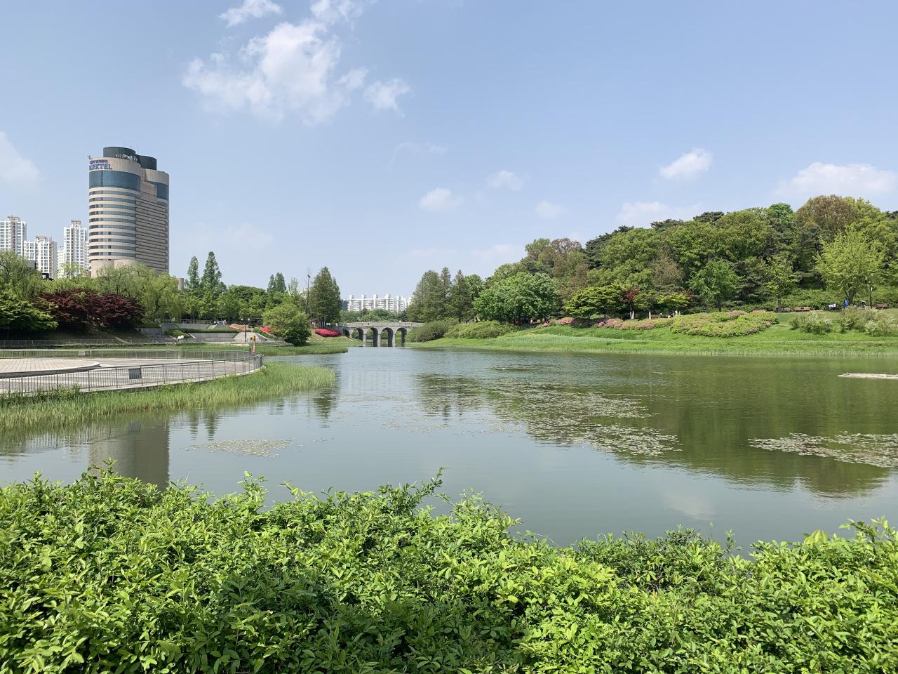 Seoul Olympic Park (Kim Arin/The Korea Herald)