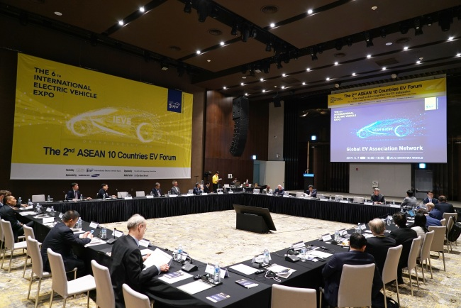 ASEAN 10 countries EV forum (Lim Jeong-yeo/The Korea Herald)