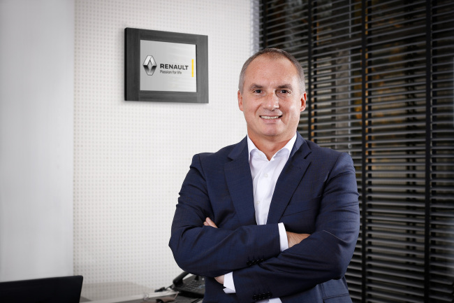 Fabrice Cambolive, chairman of Renault's AMI-Pacific region (RSM)