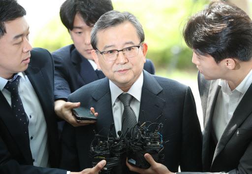Ex-Vice Justice Minister Kim Hak-eui (Yonhap)