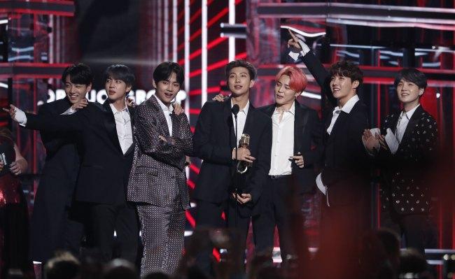 K-pop boy group BTS (Yonhap)