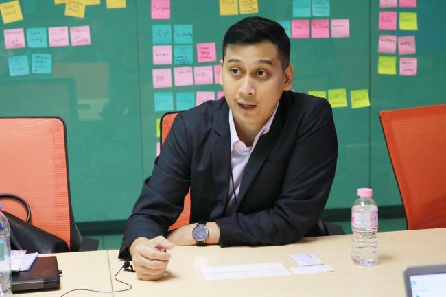 Pariwat Wongsamran, director of Startup Thailand run by the state-run National Innovation Agency. / Sohn Ji-hyung
