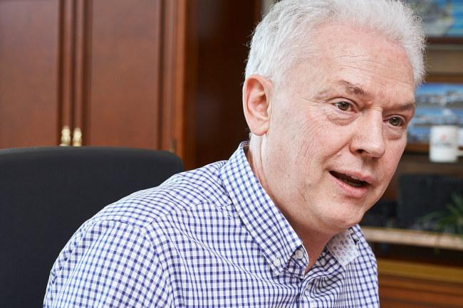Albert Biermann, president of Hyundai Motor's R&D division (Hyundai Motor)