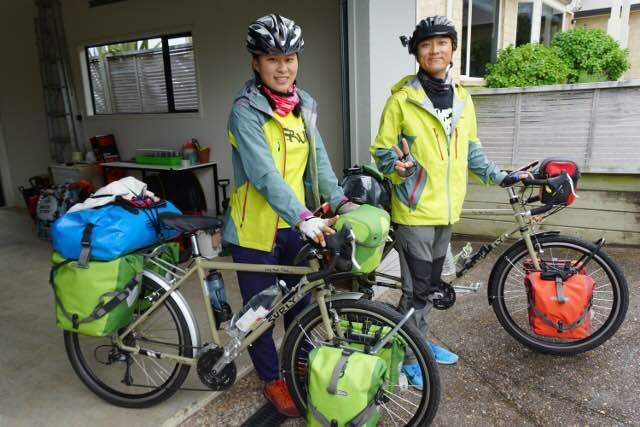 Park Su-yeon and husband Ha Ji-hoon in New Zealand (Photo credit: Park Su-yeon)