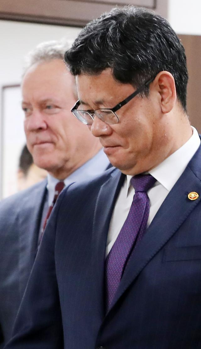 Unification Minister Kim Yeon-chul (Yonhap)