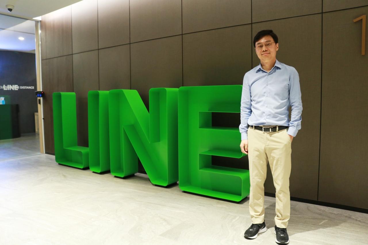 Jayden Kang, executive director of Line Sacleup Son Ji-hyoung/The Investor