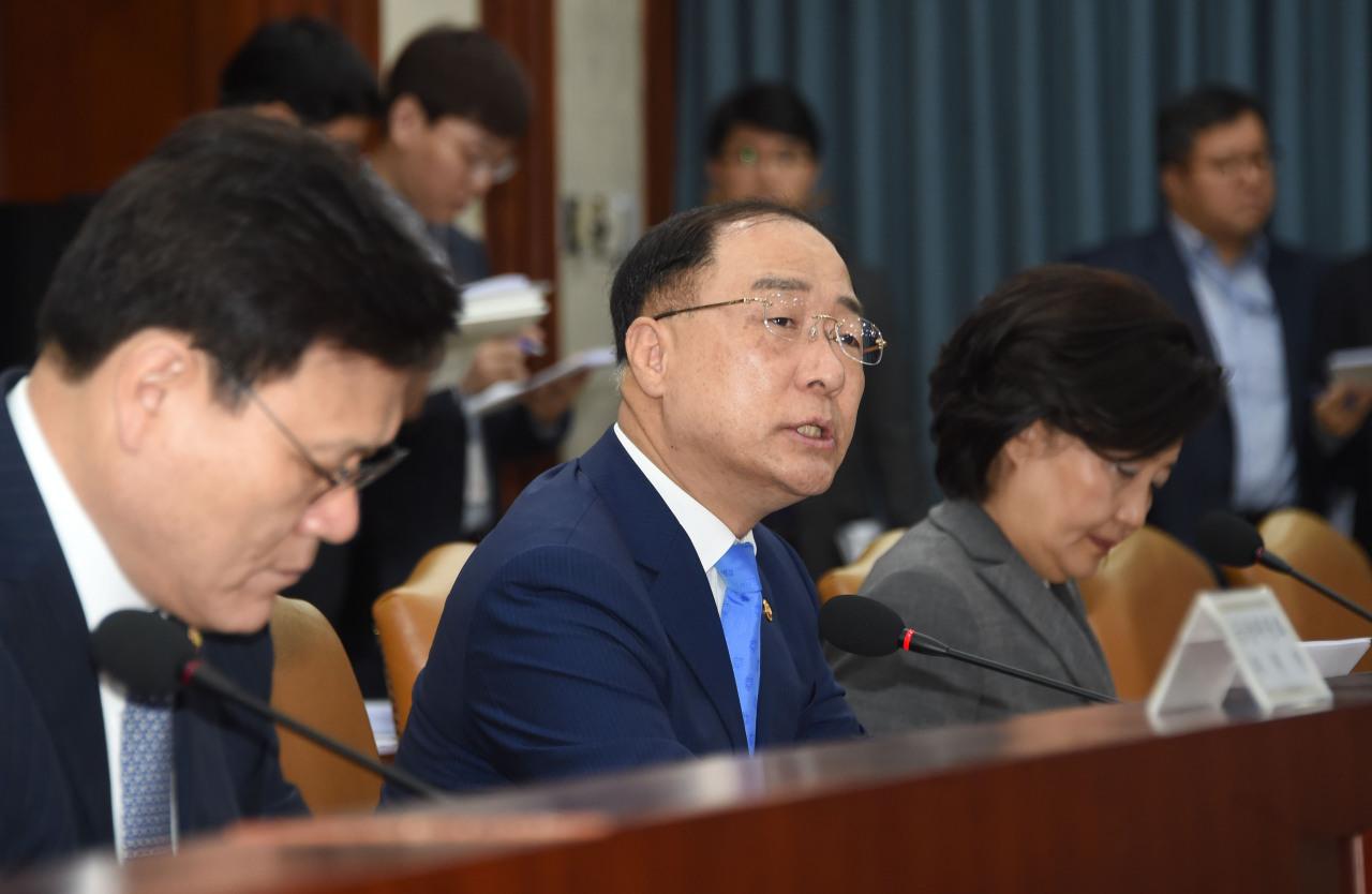 Deputy Prime Minister and Finance Minister Hong Nam-ki. (Ministry of Economy and Finance)