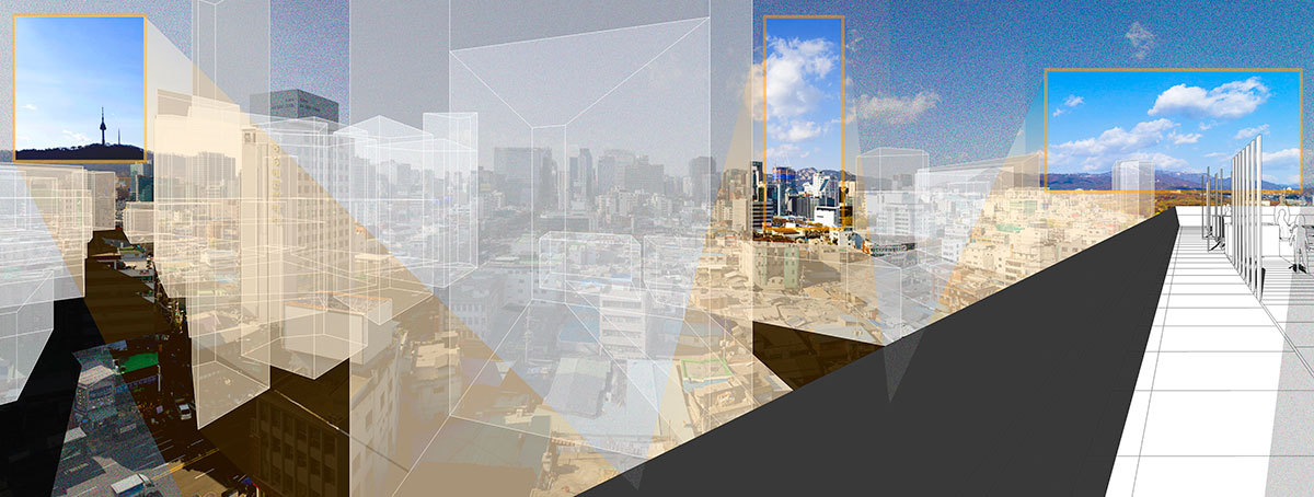 "A picture from architect Kim Sung-woo's project ""City of Radical Shift"" (Courtesy of the architect)"