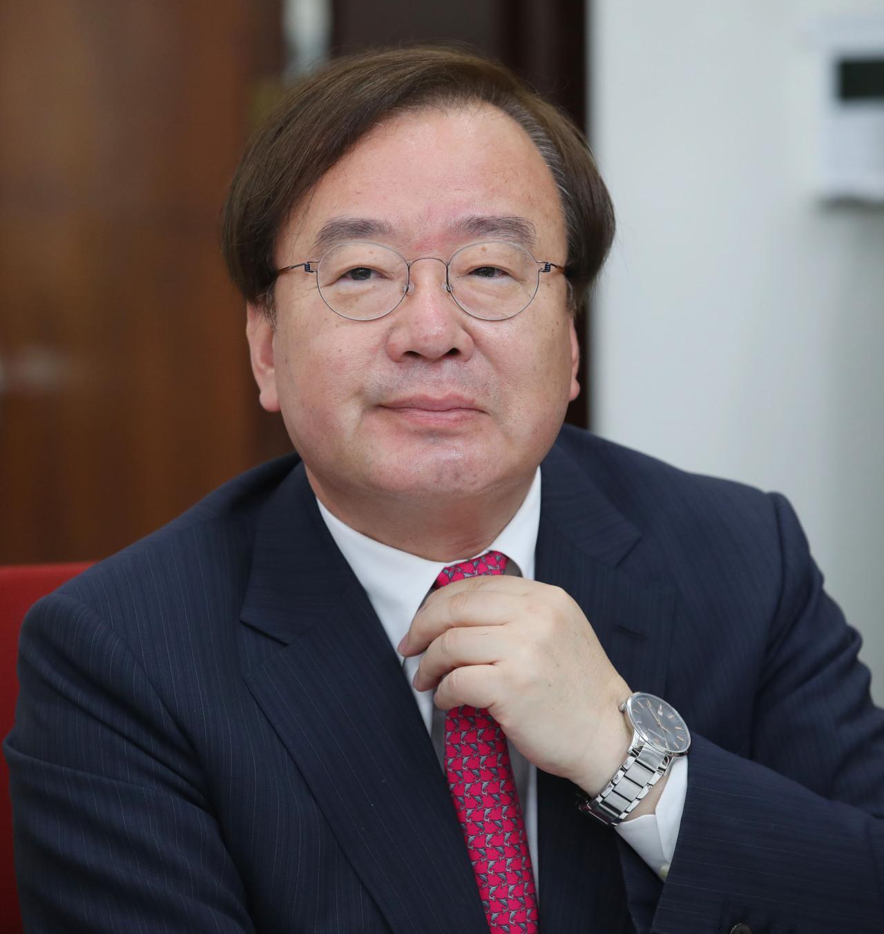 Rep. Khang Hyo-shang. Yonhap