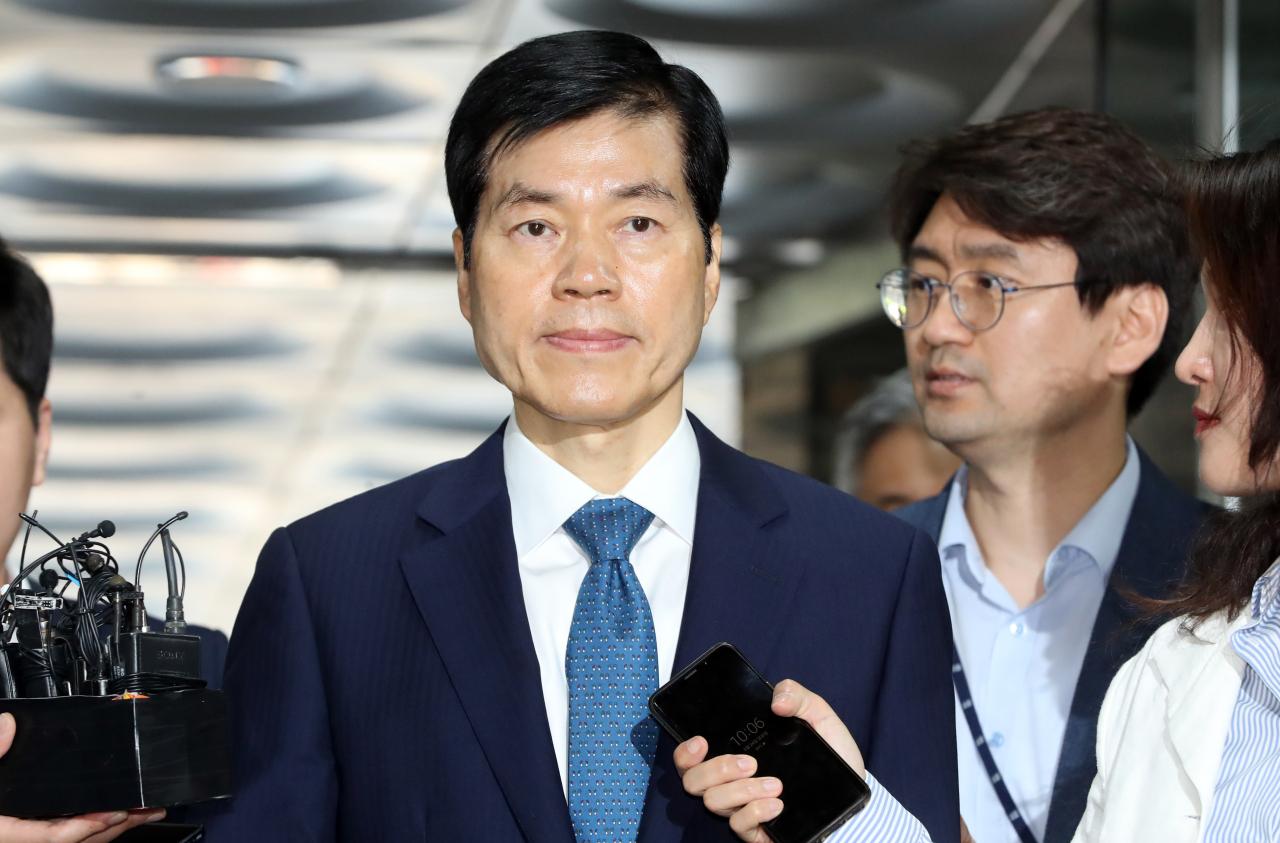 Samsung Biologics CEO Kim Tae-han (Yonhap)