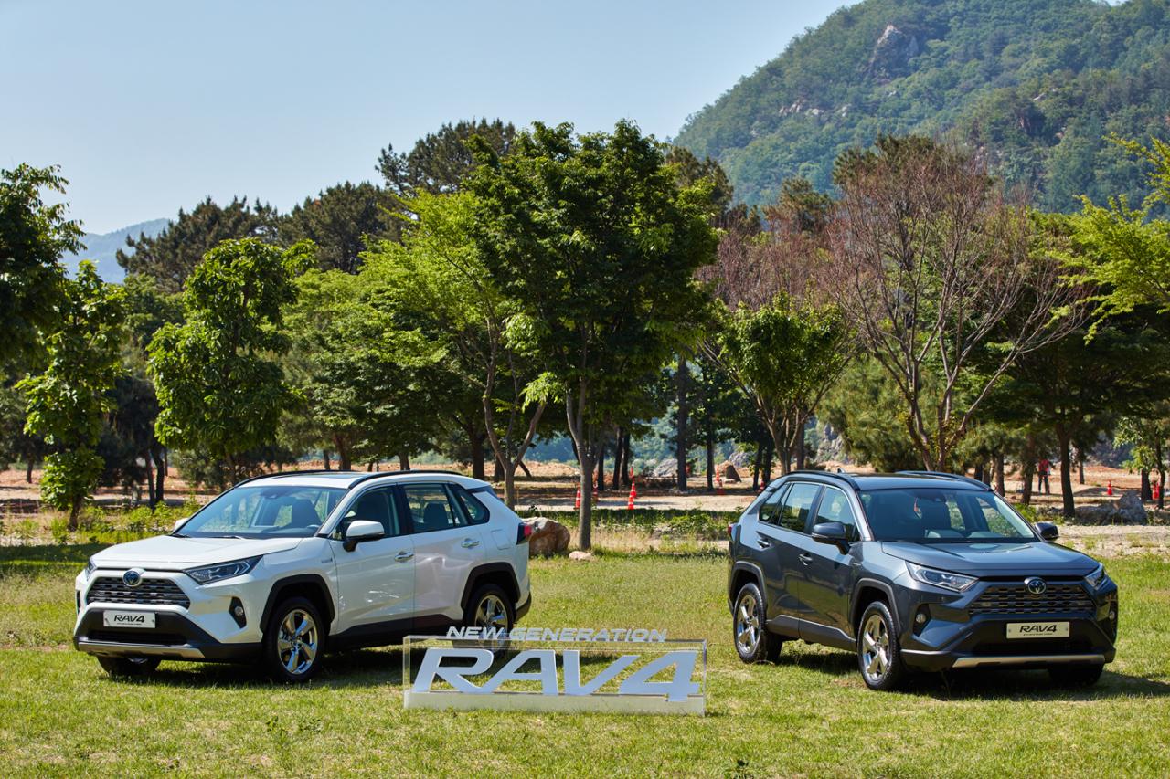 Toyota's all-new RAV4 sport utility vehicle. (Toyota Korea)