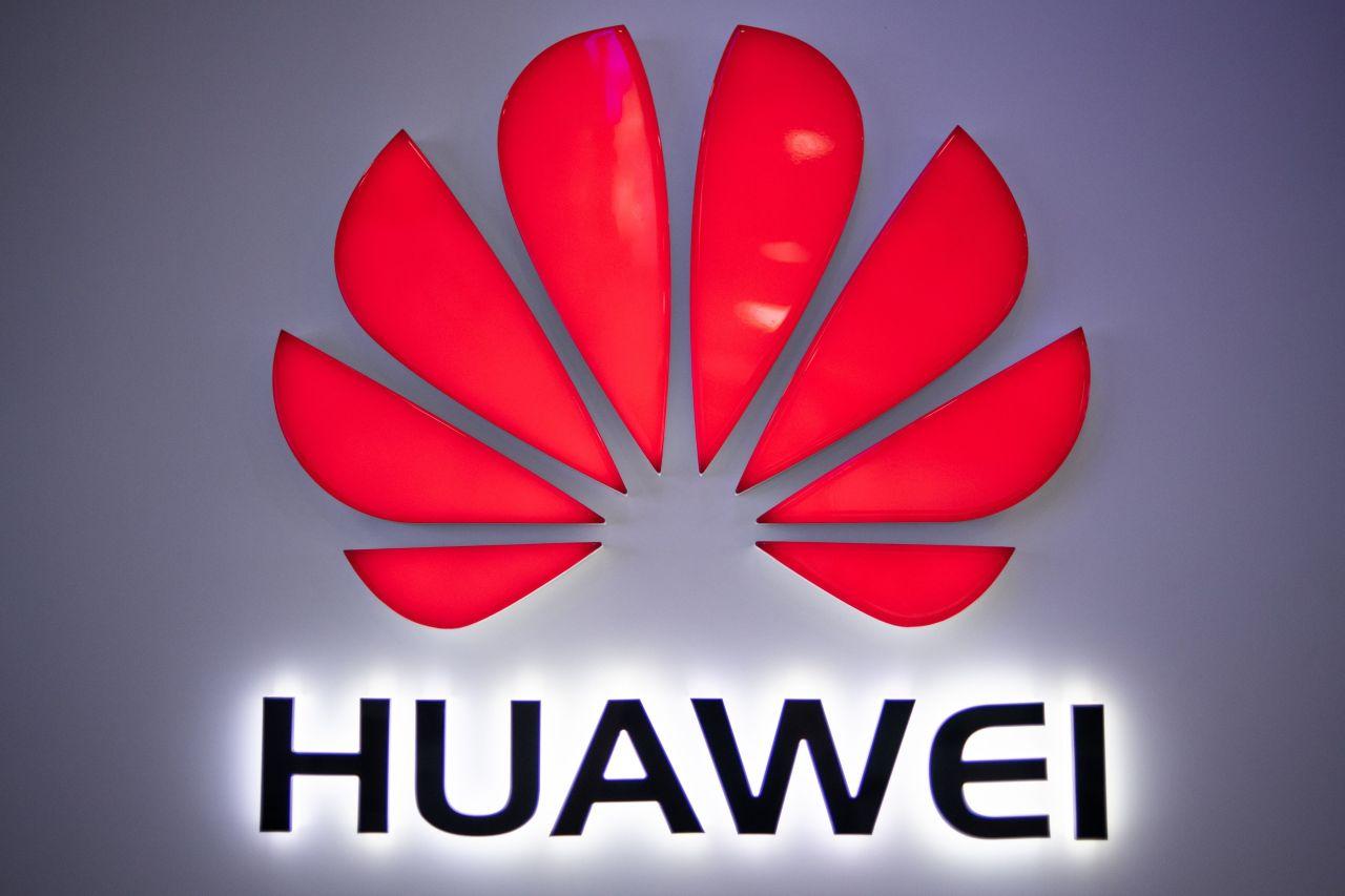 Huawei logo. Yonhap