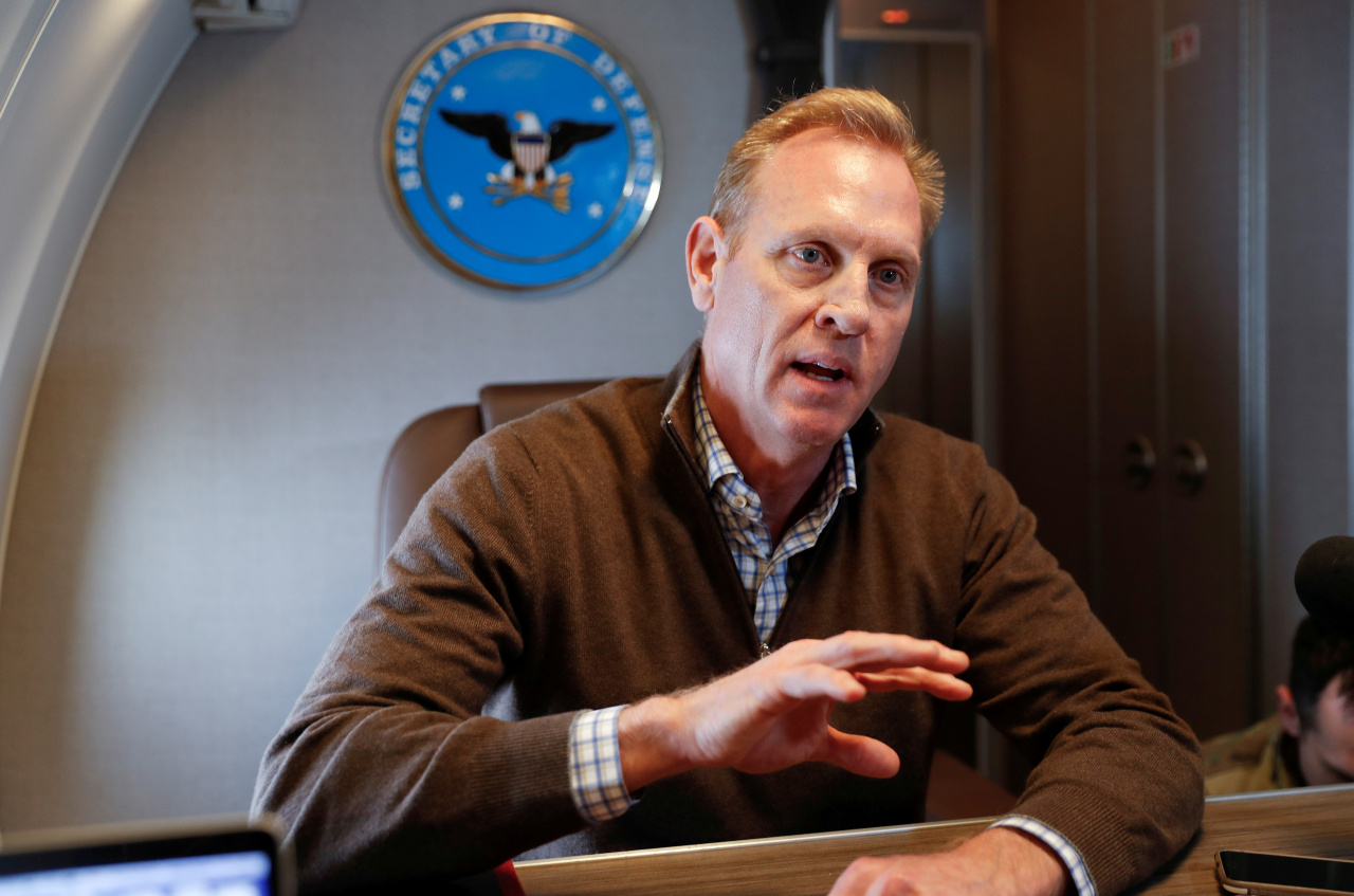 US acting Secretary of Defense Patrick Shanahan (Reuters-Yonhap)