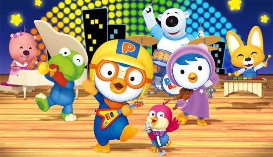 South Korea`s popular animation Pororo the little Penguin.