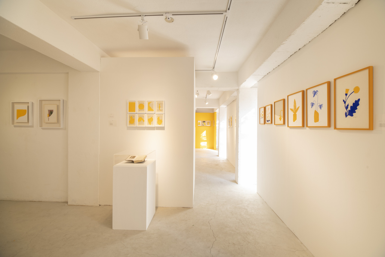 An installation view of exhibition