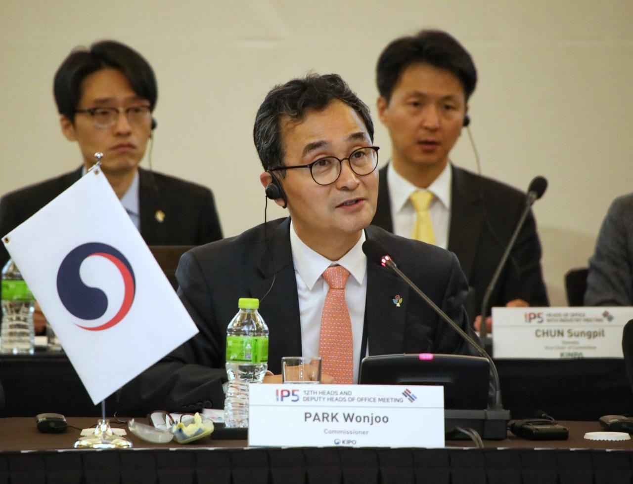 KIPO Commissioner Park Won-joo (KIPO)