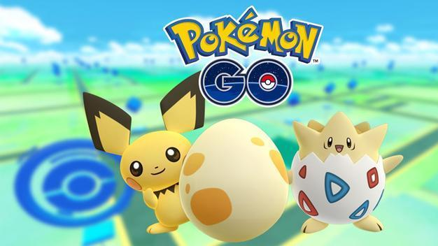 "ichu (left) and Togepi from ""Pokemon Go"" (Niantic)"