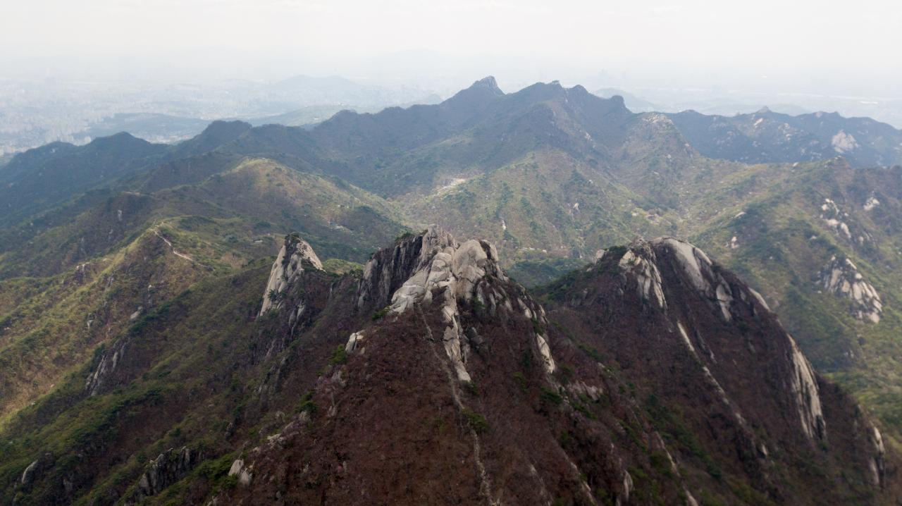Bukhansan National Park (DJ Clark)