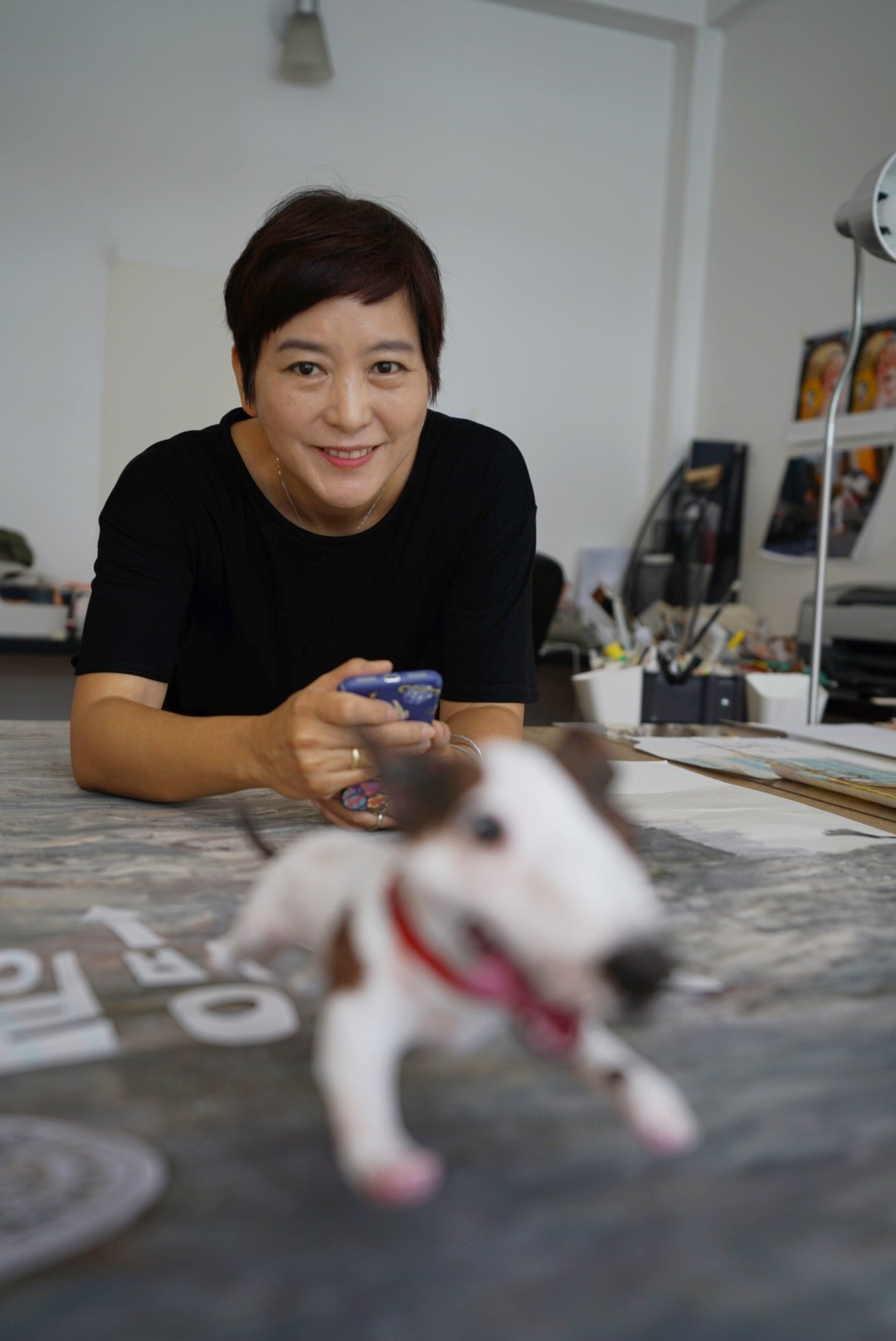 Baek Hee-na, author and illustrator of