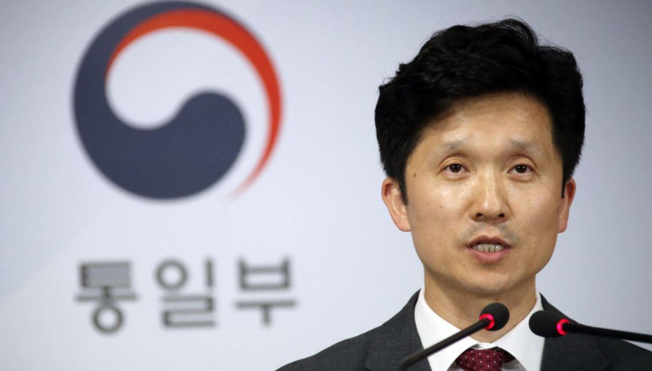 Unification Ministry spokesperson Lee Sang-min. (Yonhap)