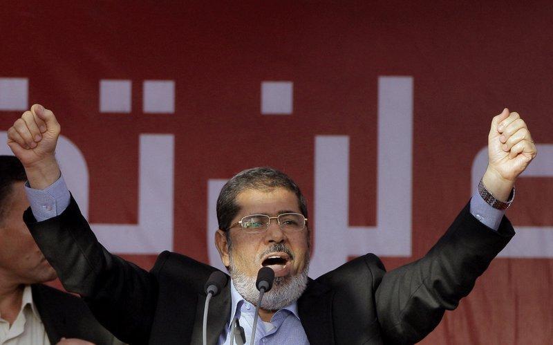 Mohammed Morsi (AP-Yonhap)