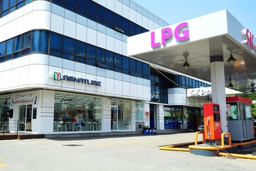 A file photo of a 7-Eleven LPG charging station in Yeongdeungpo-gu, Seoul (7-Eleven)
